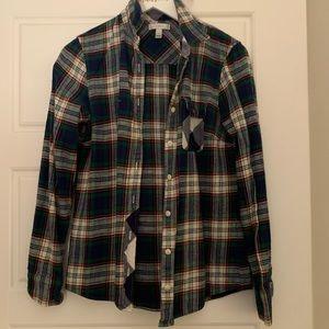 J. Crew flannel size 4